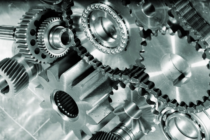 machinery of engineering parts